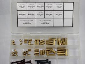 Brass Swingweight Kit Steel & Graphite