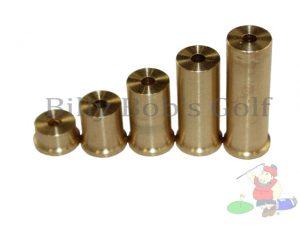 Brass Swingweights Steel Shafts