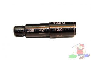Adams XTD Ti, XTD 3 Degree Adjustable Factory Sleeve