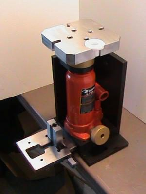 CMX® Vertical or Horizontal Specialty Shaft Extractor Base with Jack