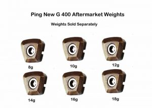 Ping New G 400 Aftermarket Head Weights ( Weights sold seperaley)