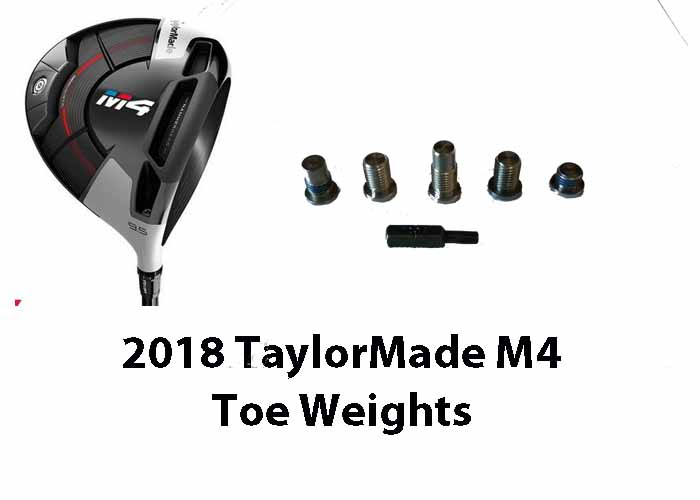 TaylorMade M4 (2018) Head Weights (weights sold separately)