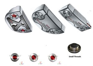 Scotty Cameron Putter Weights (1 Pair) Small Threads